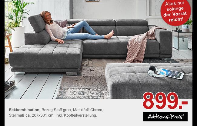 Angebot: Eckkombination für 899.-
