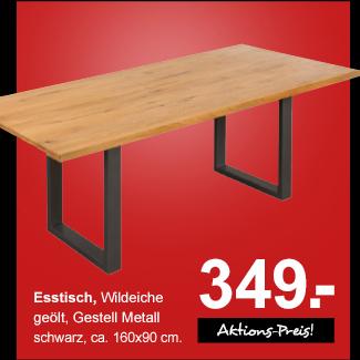 Angebot: Esstisch für 349.-