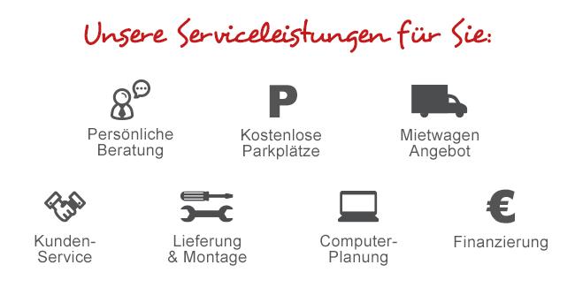 Unsere aktuellen Serviceleistungen für Sie.